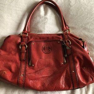Antonio Melani Red Leather Purse